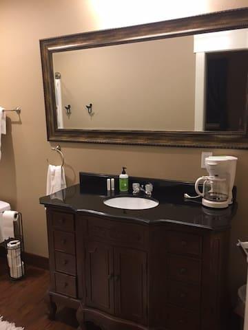 Private Bathroom area