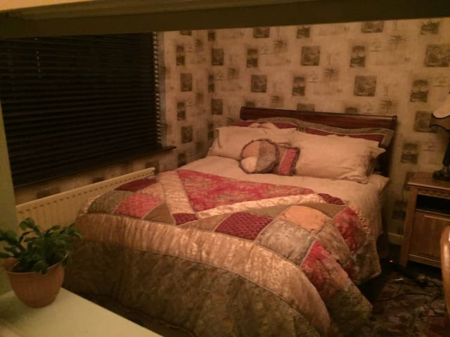 Comfy double bedroom