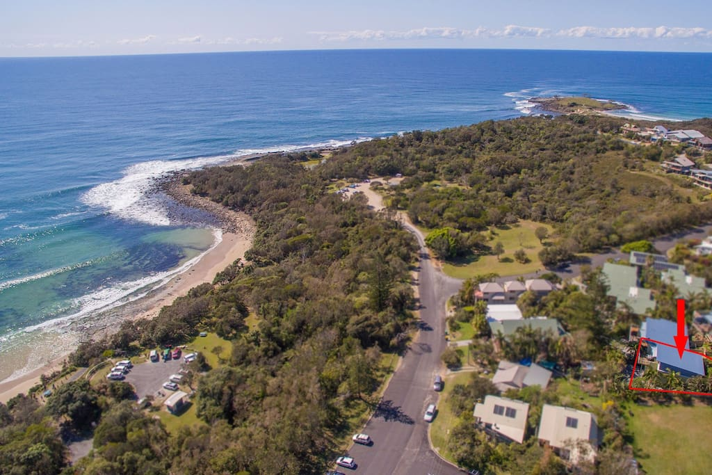 This unit is located very close to famous surfing beaches