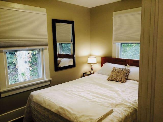 Queen Bed in Bedroom 3 with dresser