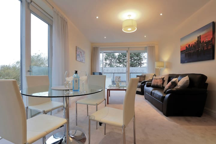 Luxury apartment, walking distance to city centre.