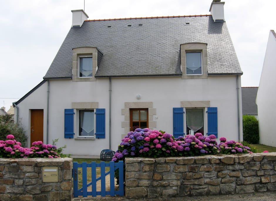 Ty maria confortable maison de p cheur houses for rent - Maison de pecheur bretagne ...