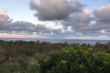 views from top verandah