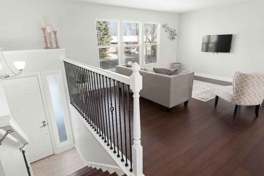 Stairs to Living Space