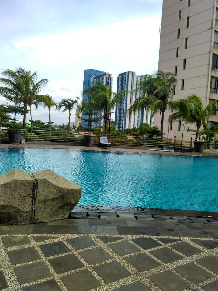 Large rooms and spacious Apartment in downtown jkt