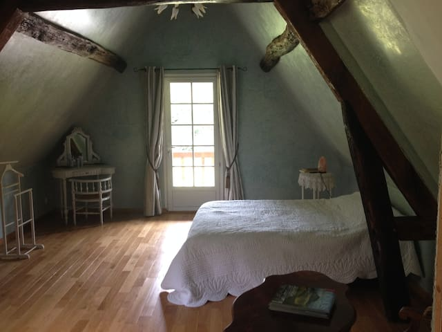 Chambre indépendante sdb privative - Saint Pierre de Mailloc - Bed & Breakfast