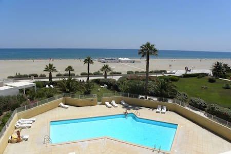 Appartement avec piscine proche de la plage - カネ=タン=ルシヨン