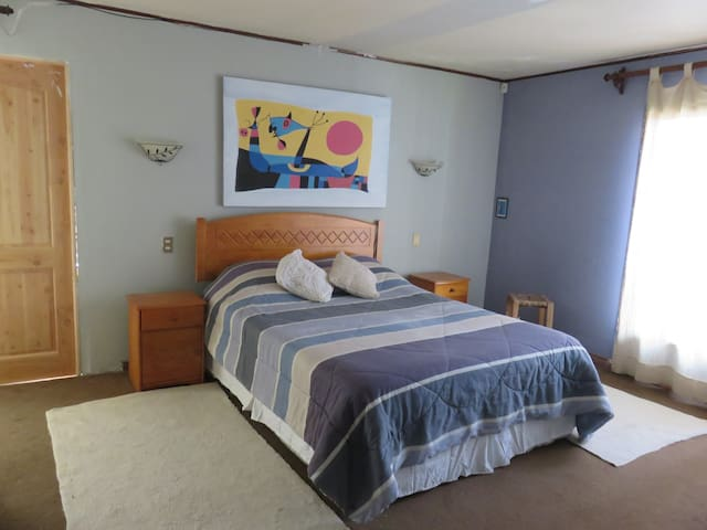 Private room for two,  1.6 km Portal Temuco. - Temuco - โฮสเทล