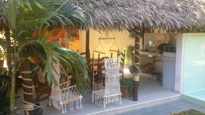 Casa Coral  100 % ambiente familiar cubano!! - Santa Marta - Rumah