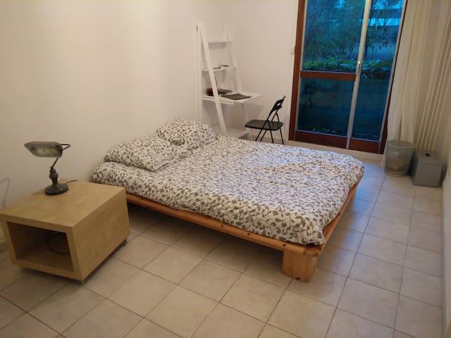 Chambre calme Beaux Arts vue sur parc - Montpellier - Appartamento