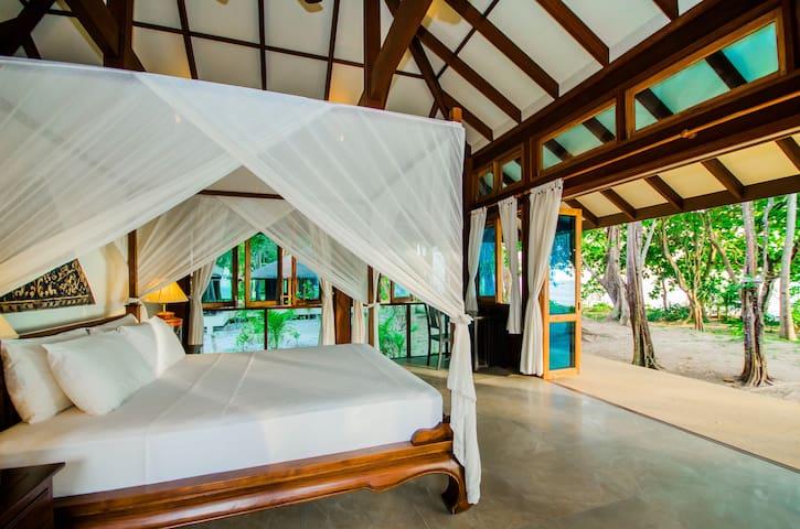 Tropical Two Bedroom Beach Villa in Krabi!
