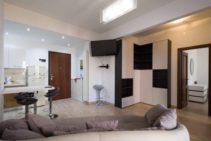 Finalborgo appartamento con garage e cantina