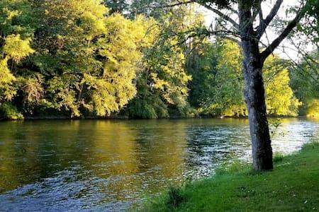 McKenzie Riverfront Retreat