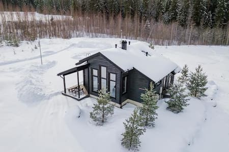 Himos Luoteistuuli cottage for 8-10 with jacuzzi