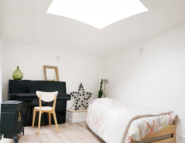 Perfect private space in Paris for a couple