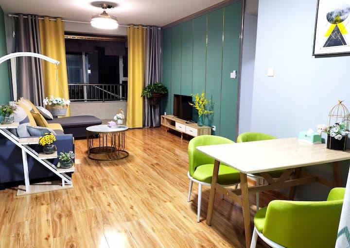 易峰民宿舒适两居室