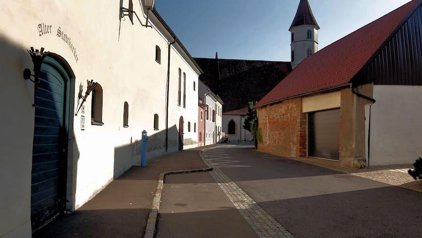 Zentrale Altstadtwohnung, pure Erholung garantiert