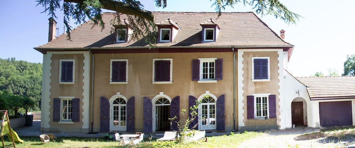 Chambres (grande maison bourgeoise) - Saint-Blaise-du-Buis - เกสต์เฮาส์