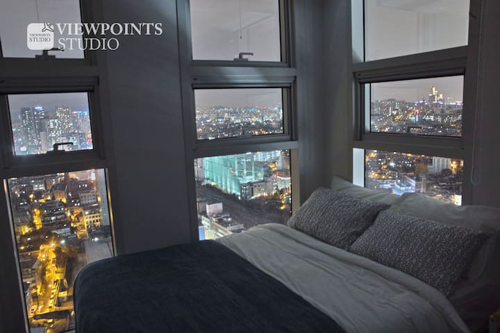 Seoul station 1 Free GYM Viewpoints Studio - Yongsan-gu - Appartement