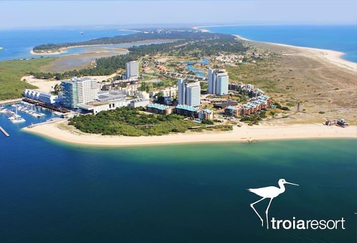 TRÓIA DREAMS - Aprt. - Férias à Beira Mar
