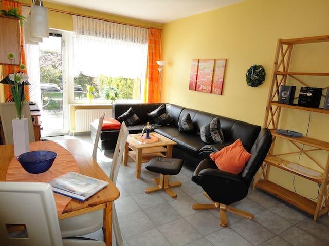 Gemütliche Wohnung an der Ostsee mit Terrasse - Dahme