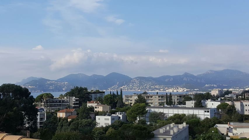 Amazing Apartment Terrace 360° view on sea Cannes - Cannes - Apartment