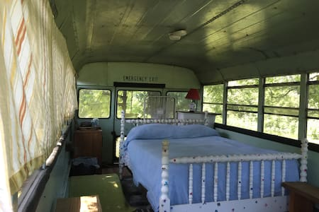 Mini-Bus on Cane Creek Farm in Saxapahaw - Graham