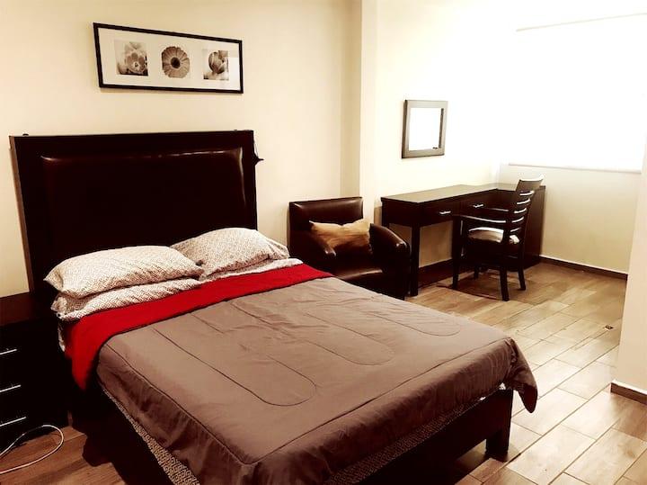 Bonitas suites privadas CDMX,Coyoacán 1.
