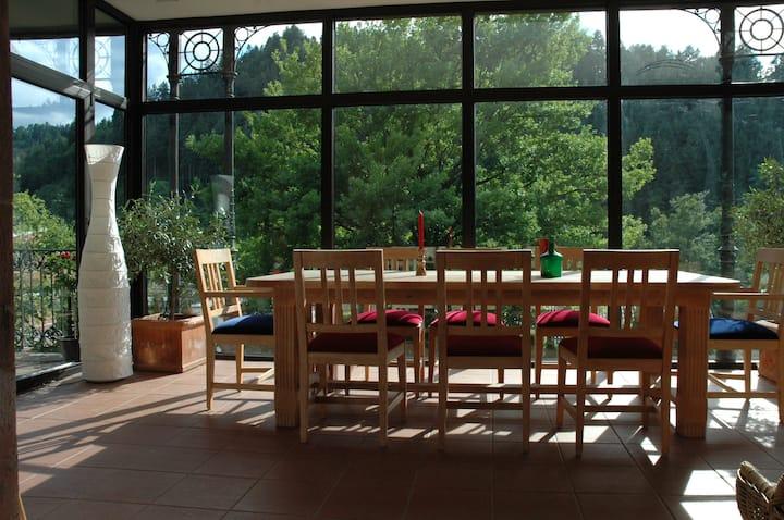 Villenetage mit Gartensauna im Schwarzwald