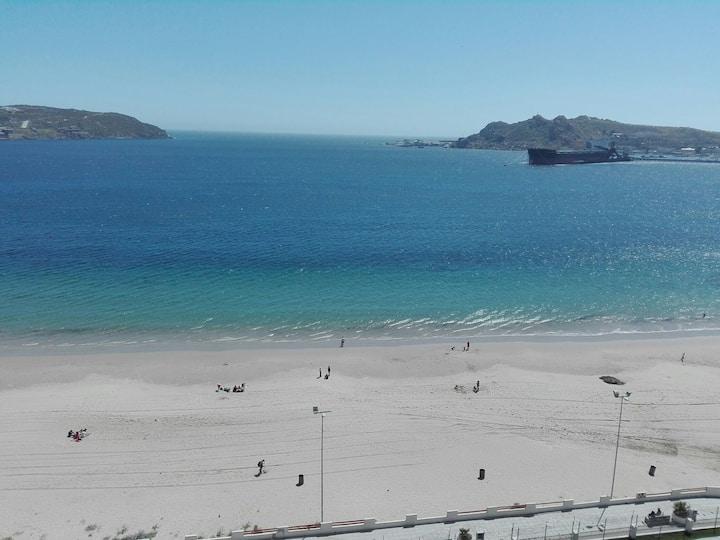 Departamento a orilla del mar,playa La Herradura