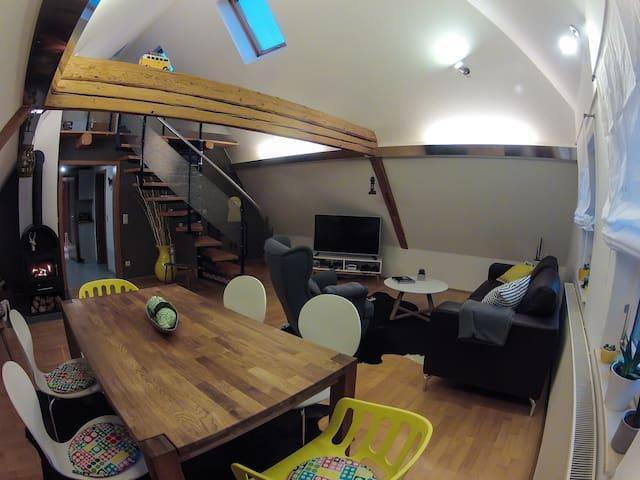 Ferienwohnung Bach+Bett - Freudenstadt - Appartement