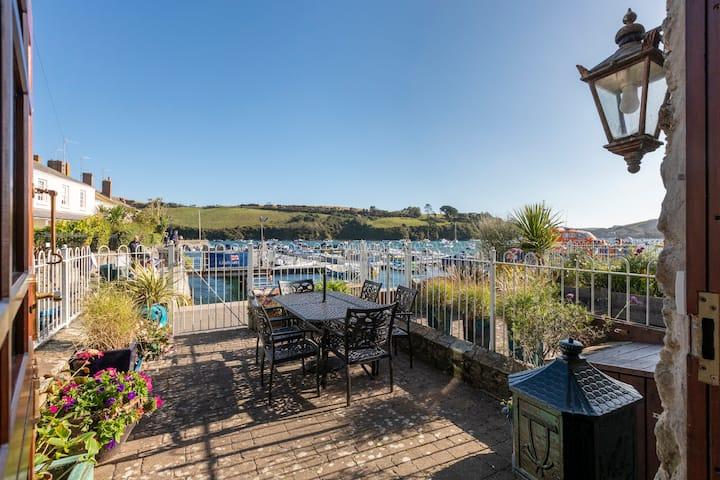 Central Salcombe waterfront property, Devon