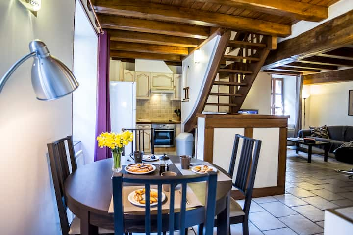 Modern Apartment in Historic Sancerre