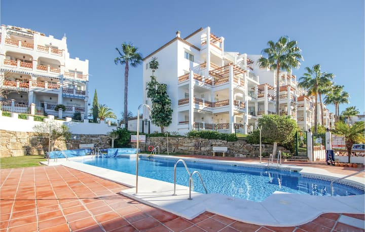 Nice home in Mijas with 2 Bedrooms and WiFi