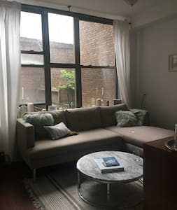 Private 1 bd 1 ba, in amazing neighborhood! - ブルックリン