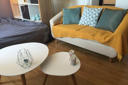Studio cocooning, chaleureux dans quartier calme - Tolosa - Pis