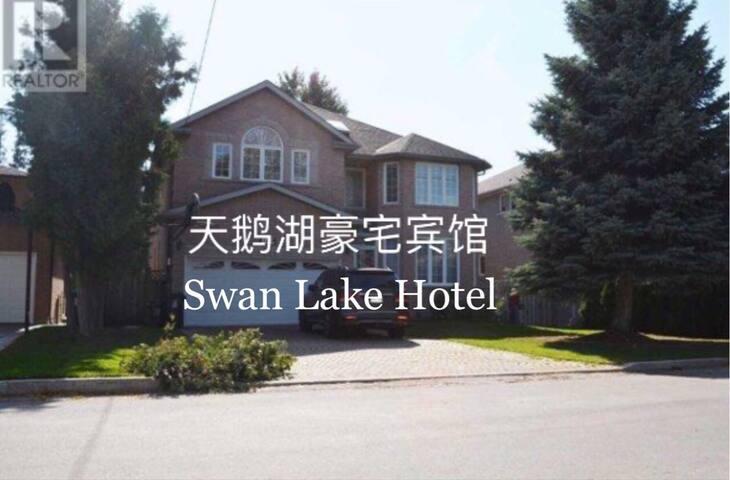 天鹅湖豪宅宾馆 一楼二号房 50加元/晚/2人/1床。 - 多伦多 - Villa