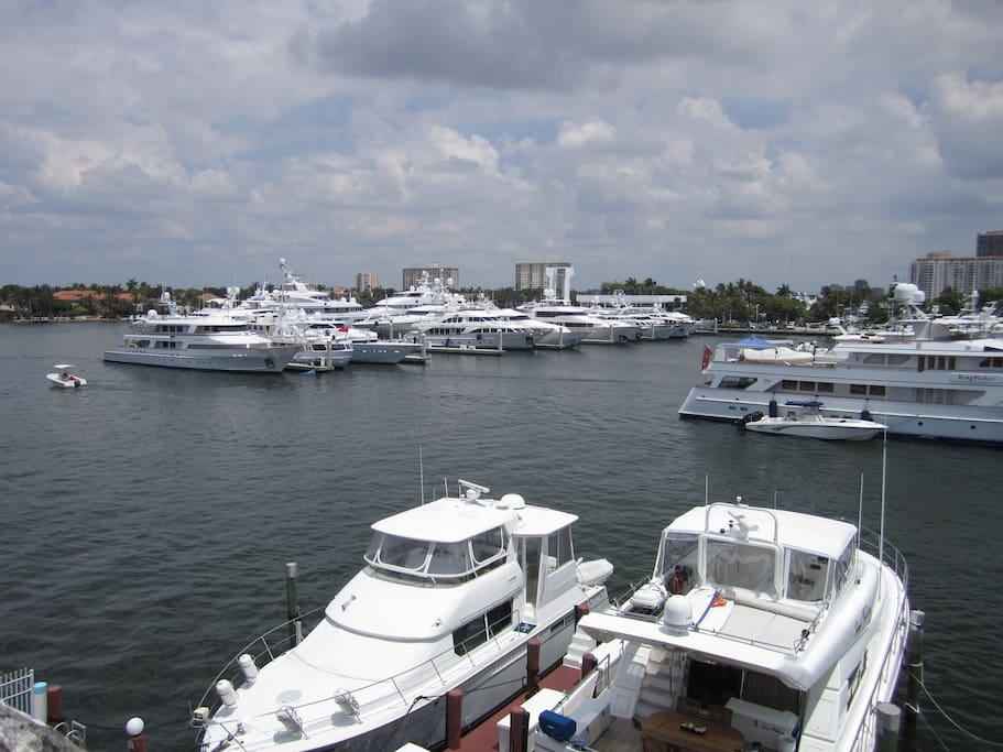 From our docks to Bahia Mar Marina