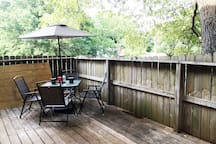 Beautiful Deck area