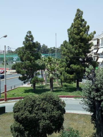 Sunny large apartment at New Faliro Piraeus