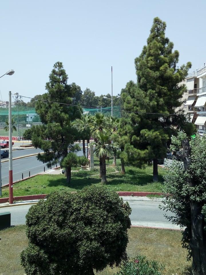 Sunny large apartment at New Faliro Piraeus