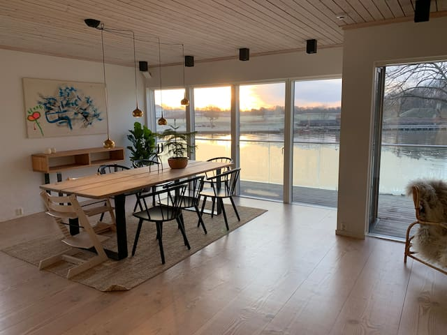 Mindful home in the heart of Fredrikstad