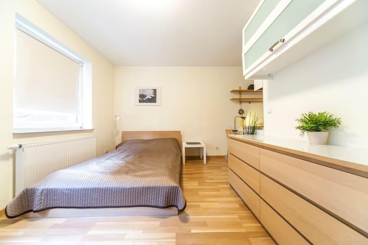 Apartment in City für 1-2,  mit WiFi und Parkplatz