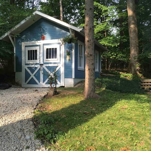 Gemini Springs cottage: an artist retreat