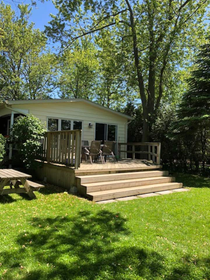 Lakefront Cottage Rental - With Private Beach!