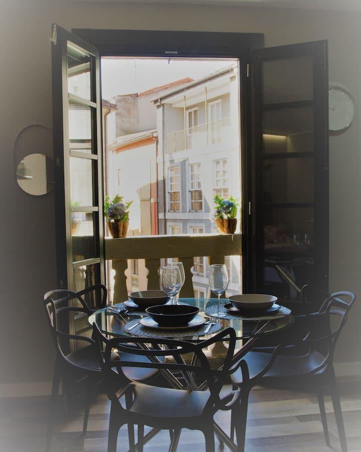 Acio tinto. Loft en el Casco Histórico de Ourense