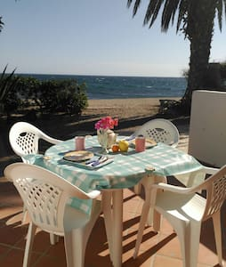 Bungalow located on the beach. - Roquetas de Mar