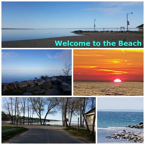 Bay Girls 1 bdrm Cottage - Steps to Balm Beach