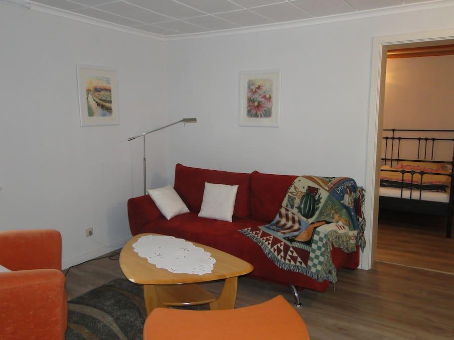 Sofa zum Fernsehgucken