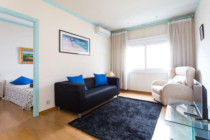 Les Corts / Sants - Executive Apartment (3 pax)